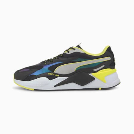 PUMA x emoji® RS-X³ Sneakers, Puma Black-Puma White, small