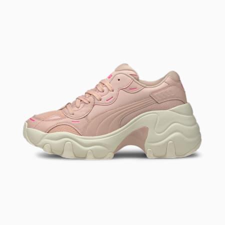 Pulsar Wedge Tonal Women's Sneakers, Peachskin-Whisper White, small