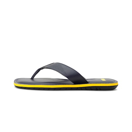Capster NU IDP Men's Sandals, Peacoat-Saffron, small-IND