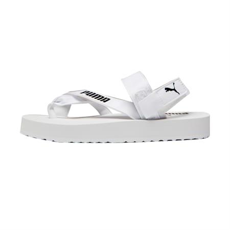 Summer Cat Sandals, Puma White-Puma Black, small-SEA