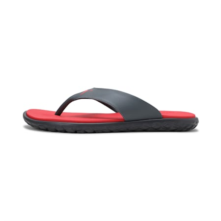 Galaxy  Comfrot IDP Men's Flip Flops, High Risk Red-Dark Shadow, small-IND