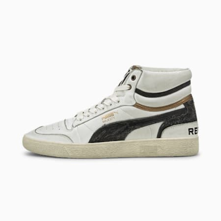 Ralph Sampson by PUMA for REPLAY Trainers, Puma White-Puma Black, small