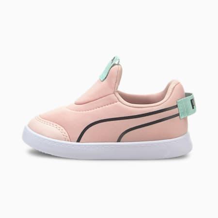 Zapatillas sin cierre para bebé Courtflex v2, Lotus-Puma Black, small