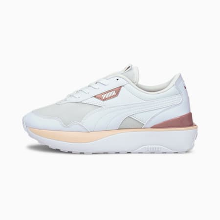 Cruise Rider sneakers dames, Puma White-Cloud Pink, small