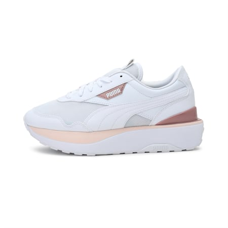 Cruise Rider Women's Shoes, Puma White-Cloud Pink, small-IND