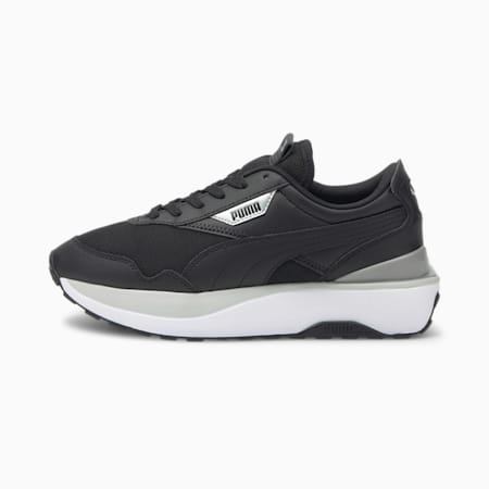 Cruise Rider Women's Sneakers, Puma Black-Gray Violet, small-GBR