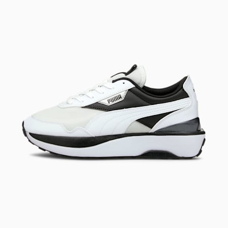 Cruise Rider Women's Sneakers, Puma White-Puma Black, small-GBR