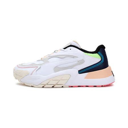 Hedra Fantasy Women's Shoes, Puma Wht-Whisper Wht-Peacoat, small-IND