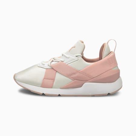 Muse X3 Pastel Damen Sneaker, Puma White-Peachskin, small