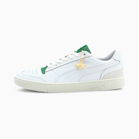 Ralph Sampson Low Dassler Legacy Trainers, PWht-AmazonGreen-VaporusGray, small