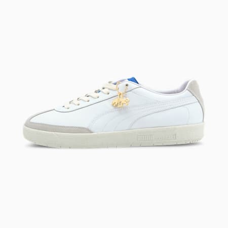 Oslo-City Dassler Legacy Trainers, White-Royal-Vaporous Gray, small