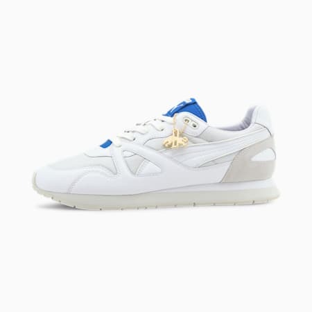 Mirage OG Dassler Legacy Trainers, Puma White-Puma Royal, small