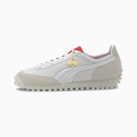 Fast Rider Dassler Legacy Trainers, P Wht-HighRiskRed-VaporusGry, small