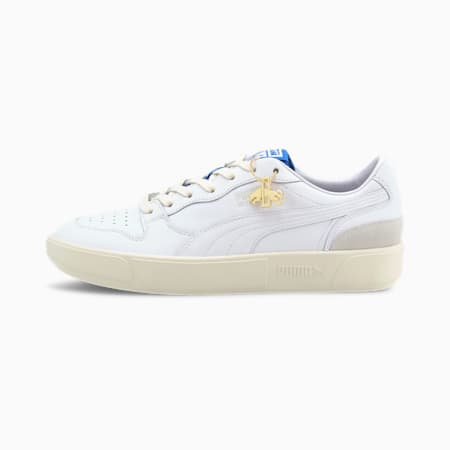 Sky LX Low Dassler Legacy Trainers, White-Royal-Vaporous Gray, small