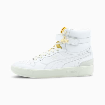 Sky LX Mid Dassler Legacy Sneaker, White -Supper Lemon- Gray, small