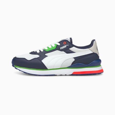 Zapatos deportivos R78 FUTR para hombre, Peacoat- Blanco-Puma White, pequeño