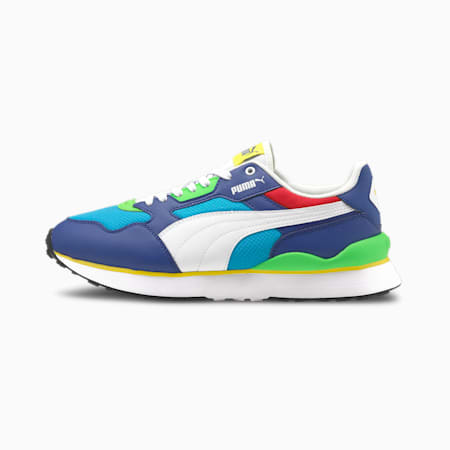 Zapatos deportivos R78 FUTR para hombre, Limoges-Puma White-Hawaiian Ocean, pequeño