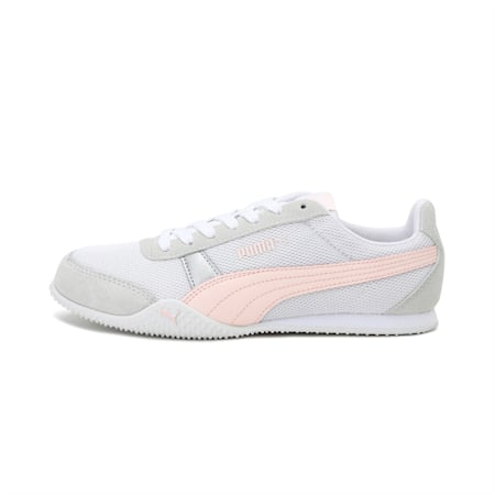 Bella Women's Sneakers, Puma White-Cloud Pink, small-IND
