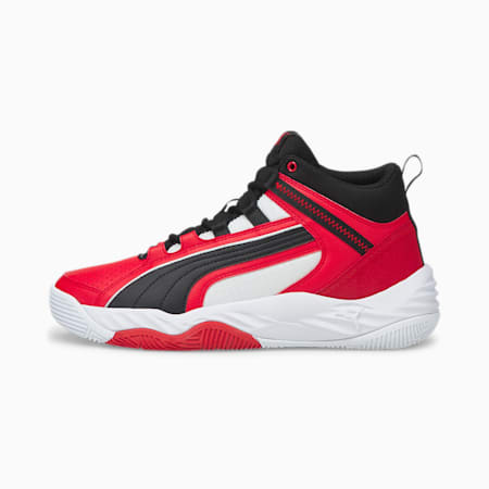 Rebound Future Evo Trainers, High Risk Red-Puma Black-Puma White, small-GBR