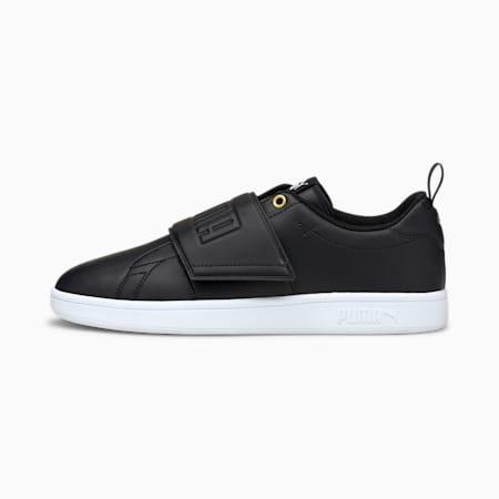 Smash Slip-On Bold Shoes, Puma Black-Puma Team Gold-Puma White, small-IND