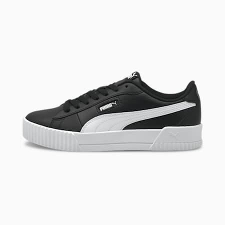 Carina Crew Women's Sneakers, Puma Black-Puma White, small-IND