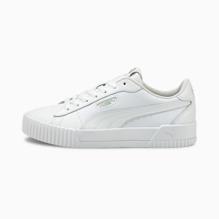 Carina Crew Women's Sneakers, Puma White-Puma White, small