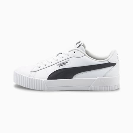 Damskie buty sportowe Carina Crew, Puma White-Puma Black, small