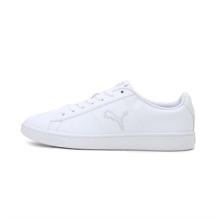 PUMA Vikky V2 Cat Women's Sneakers, Puma White-Gray Violet-Puma Black, small-IND