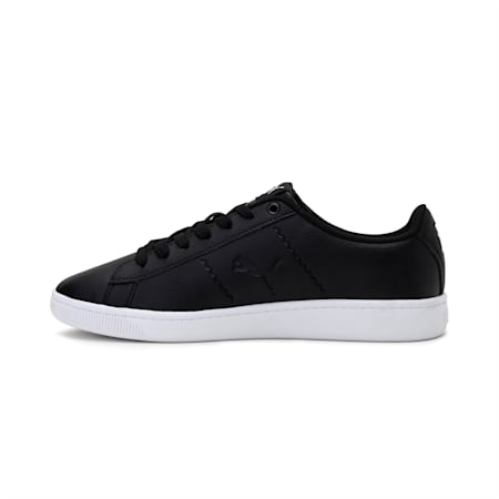 PUMA Vikky V2 Cat Women's Sneakers, Puma Black-Puma White, small-IND