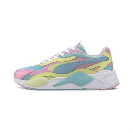 Zapatos deportivos RS-X³ Plastic para mujer, Gulf Stream-Sunny Lime, pequeño