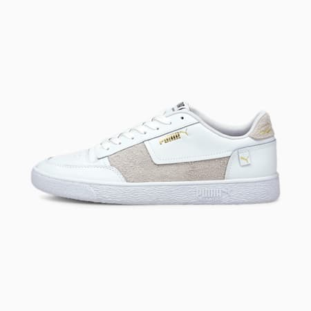 Ralph Sampson MC Mix Sneakers, Puma White-Puma Team Gold, small-IND