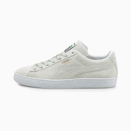 Scarpe da ginnastica in pelle scamosciata Suede Classic XXI, Gray Violet-Puma White, small
