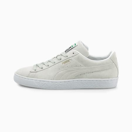 Suede Classic XXI Trainers, Gray Violet-Puma White, small