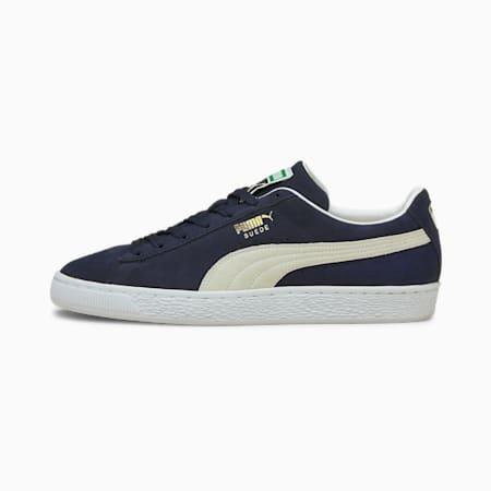 Zapatos deportivos de gamuzaClassic XXI para hombres, Peacoat-Puma White, pequeño