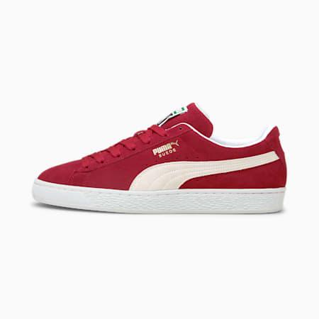 Suede Classic XXI Sneaker, Cabernet-Puma White, small
