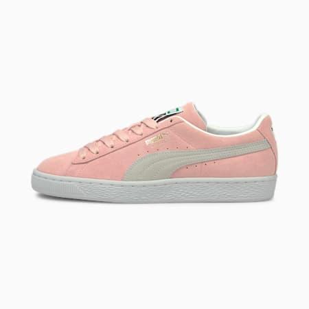 Suede Classic XXI Sneaker, Peachskin-Puma White, small