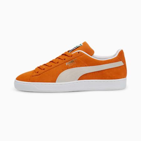 Espadrilles Suede ClassicXXI, homme, Orange vibrant-blanc Puma, petit