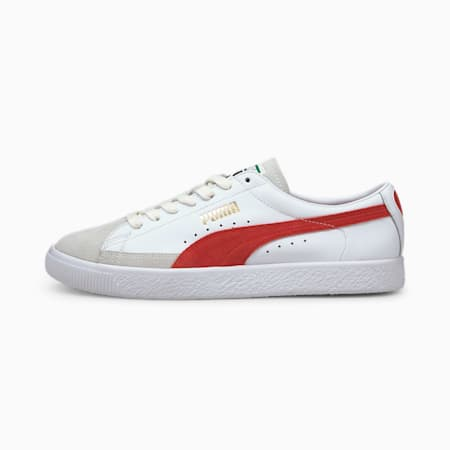 Basket VTG Trainers, Puma White-High Risk Red, small