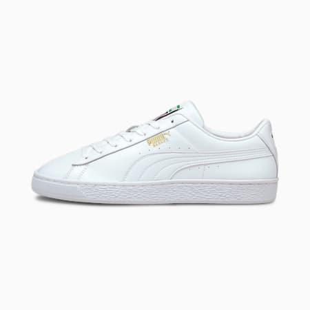 Basket Classic XXI Men's Sneakers, Puma White-Puma White, small-IND