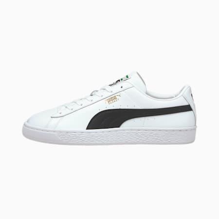 Basket Classic XXI Herren Sneaker, Puma White-Puma Black, small