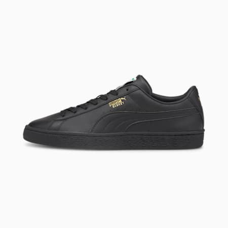 Basket Classic XXI Men's Trainers, Puma Black-Puma Black, small