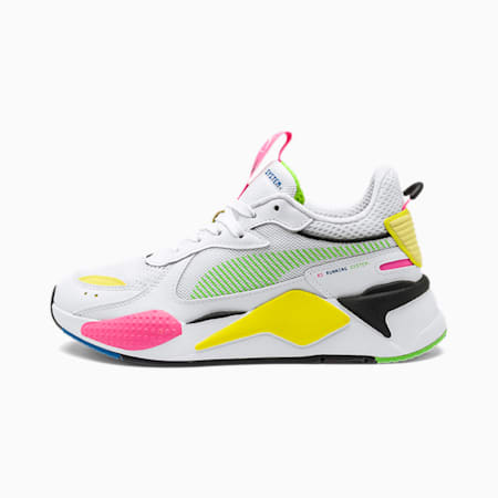 RS-X Thunder Glow by Pedroche Sneaker, White-802 C  -809 C, small