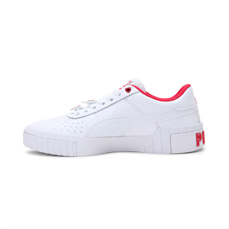 Cali Galentine's Women's Sneakers, Puma White-Virtual Pink, small-IND