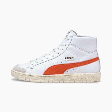 Ralph Sampson 70 Mid OG Trainers, Puma White-Tigerlily, small-GBR