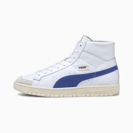 Scarpe da ginnastica con profilo medio Ralph Sampson 70 OG, Puma White-Elektro Blue, small