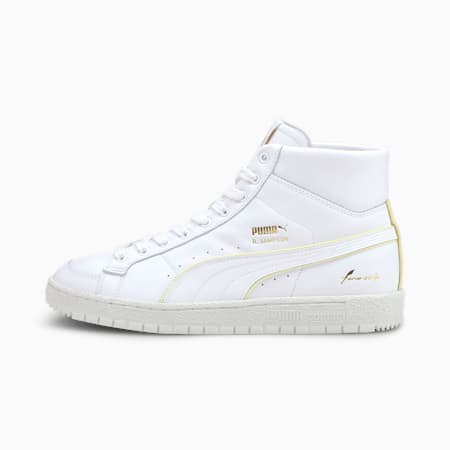 Ralph Sampson 70 Mid RDL Sneaker, Puma White-Vaporous Gray, small