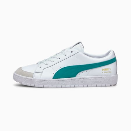 Ralph Sampson 70 Low Archive Trainers, Puma White-Parasailing, small-GBR