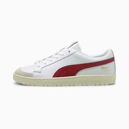 Ralph Sampson 70 Low Archive Trainers, Puma White-Intense Red, small