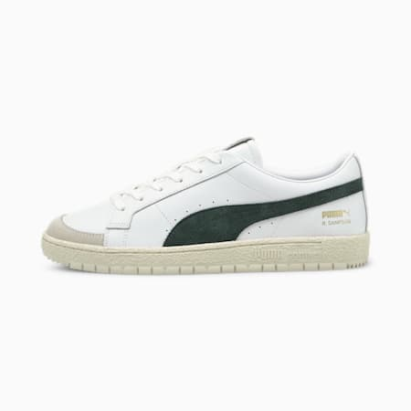 Ralph Sampson 70 Low Archive Trainers, Puma White-Green Gables, small