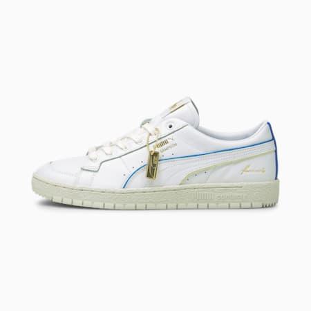 Ralph Sampson 70 Lo RDL Sneaker, Puma White-Yellow Pear-VGray, small